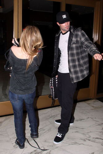 Avril With Brody Jenner at Red Rock Bar in Hollywood, CA (April 4, 2010)