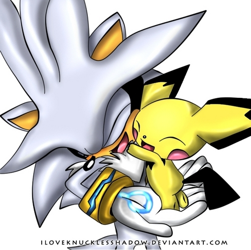 Silver the Hedgehog kertas dinding entitled Awwwww so cute! ~(^.^)~