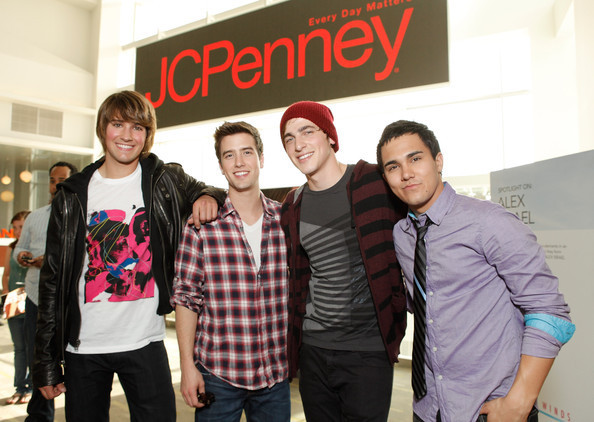 BTR @ JCPenney Event