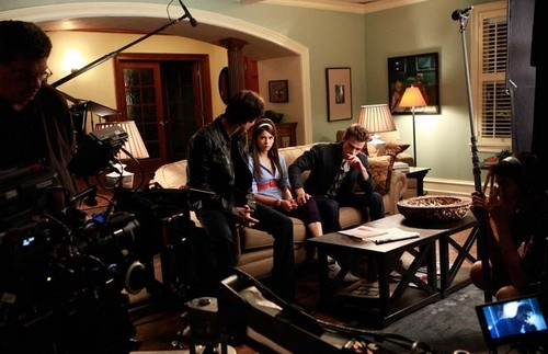 Behind the scenes of TVD