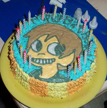 Scott Pilgrim wallpaper called Birthday Cake