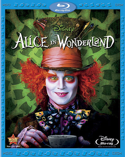 Blu Ray Disc Alice In Wonderland