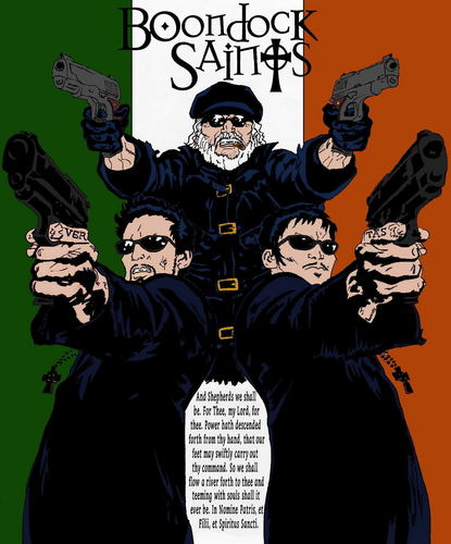Boondock Saints Comic fan art