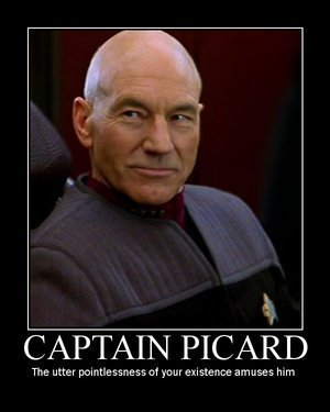 Captain Picard is Pleased