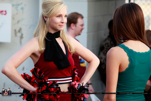 Caroline and Elena episode stills