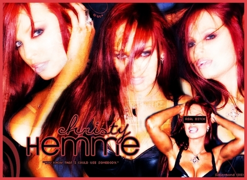 Christy Hemme (done by me for friends)
