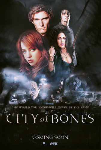 City Of Bones Teaser Poster