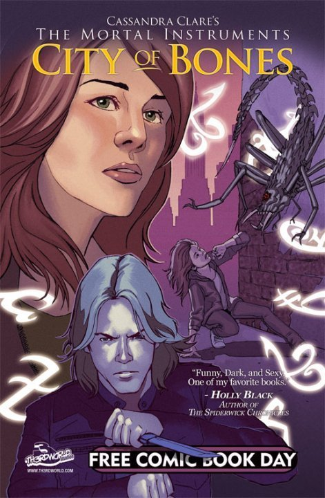 City of Bones Graphic Novel Cover - mortal-instruments Photo