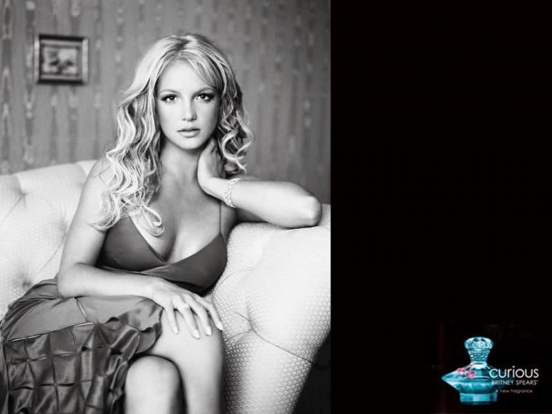 Cool Britney karatasi la kupamba ukuta