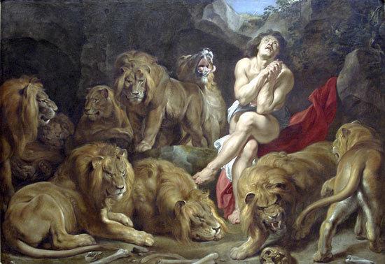 Daniel In The Lions tanière, den
