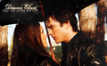 Delena; kiss me under the rain.