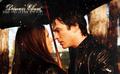 Delena; 키스 me under the rain.