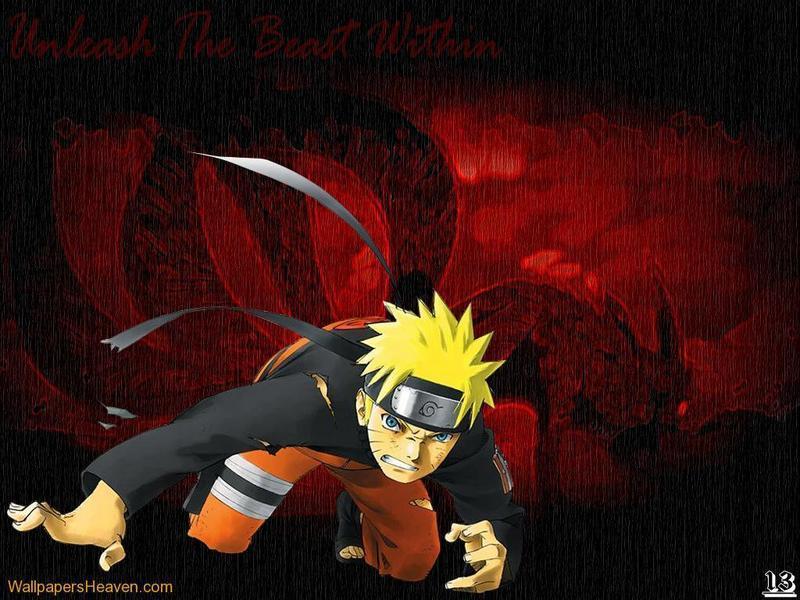 naruto shippuden jinchuriki wallpaper. Demon-fox-Naruto - Naruto