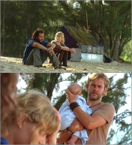 Desmond,Claire,and Charlie