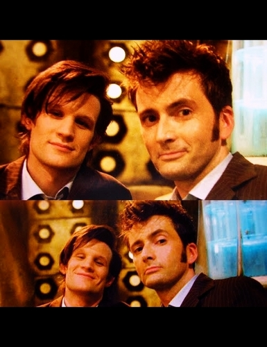 The 10th and 11th Doctor