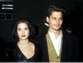 Edward Scissordshands Premiere - johnny-depp-and-winona-ryder photo