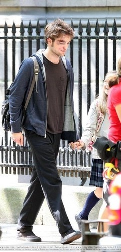 Edward and Nessie holding hands