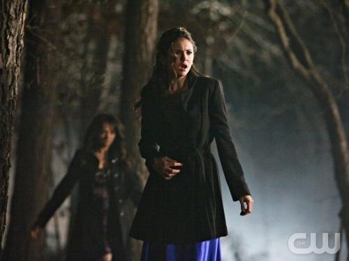 Elena & Bonnie 1x19