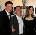 Emily @ the Bones 100th Episode Party - emily-deschanel photo