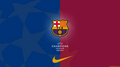 F.C Barcelona - Champions League 壁纸