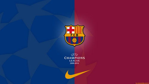 F.C Barcelona - Champions League वॉलपेपर