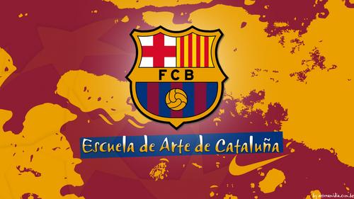 FC Barcelona Escuela de Arte - wolpeyper