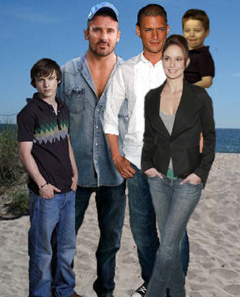 Family Scofield & Family Burrows