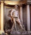 Fontana di Trevi's Neptune, Rome.