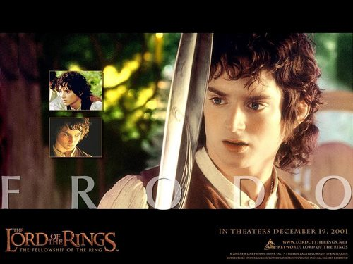 Frodo Baggins - lord-of-the-rings Wallpaper