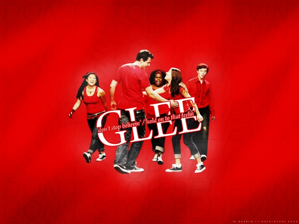 Glee Cast Wallpaper Glee Wallpaper 11320359 Fanpop