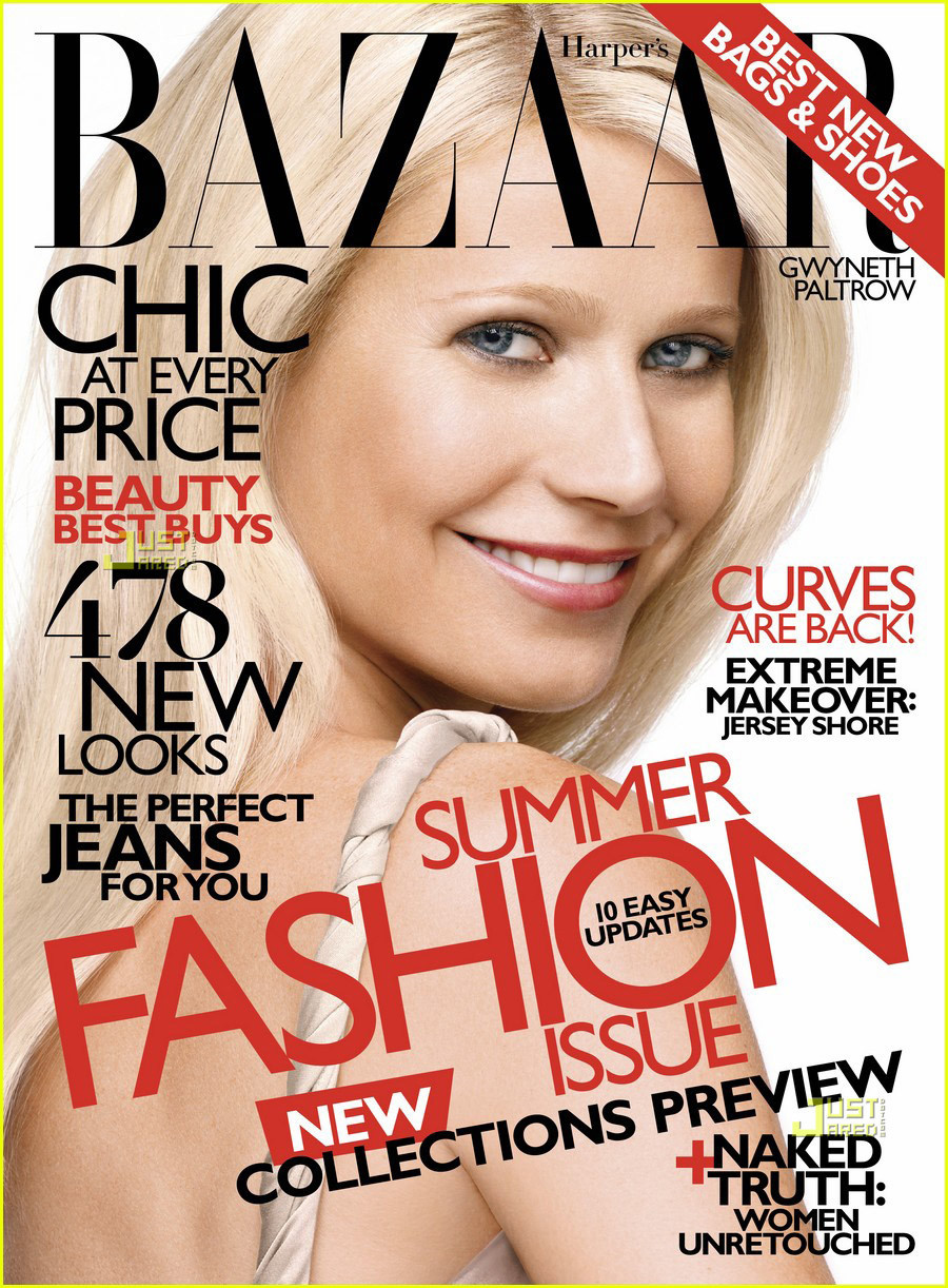 Gwyneth Paltrow Covers 'Harper's Bazaar' May 2010