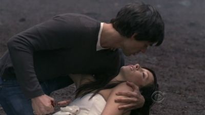 Henry kills Trish (Harpers Island)