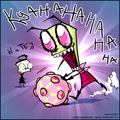 Invader Zim Katamari Damacy!