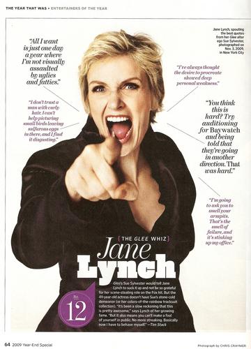 Jane in Entertainment Weekly (Jan 1, 2010)