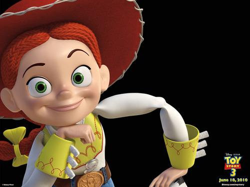 Jessie (Toy Story) Обои entitled Jessie WP