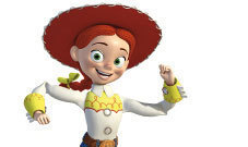 Jessie (Toy Story) Обои called Jessie the Cowgirl