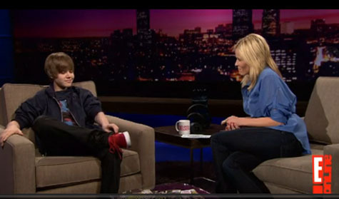 Justin Bieber on Chelsea Lately