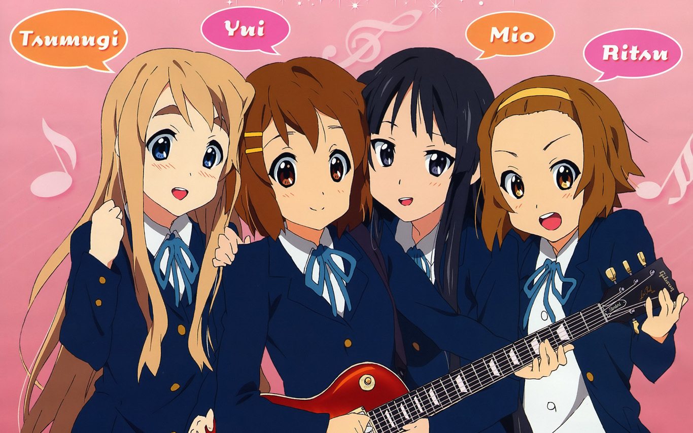 K On Anime images K-ON!! wallpaper photos (11337519)