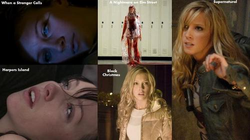 Horror 여배우 바탕화면 entitled Katie Cassidy Horror movies/shows
