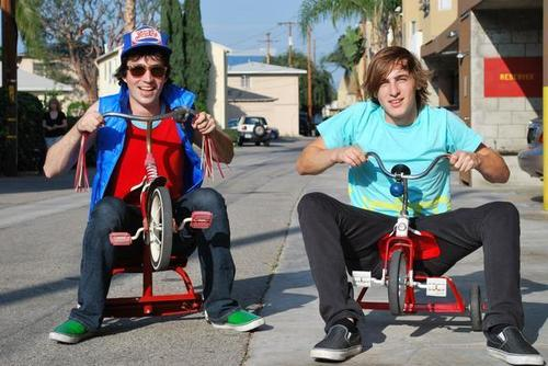 Kendall on a ticycle