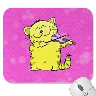 Kitten chuột pad