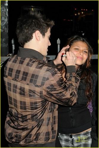 Logan signing fan's cheek