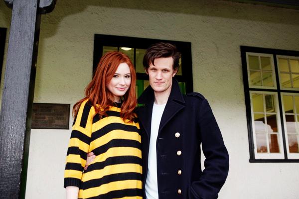 karen gillan doctor who. Matt Smith and Karen Gillan