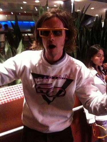 Matthew at Disneyland