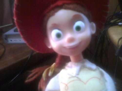 Jessie (Toy Story) wallpaper called Meg's Jessie Doll!