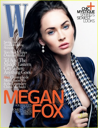 Megan for W Magazine - March 2010