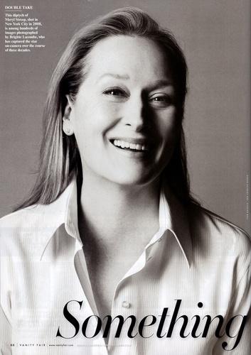 Meryl Streep in Vanity Fair Magazine January 2010