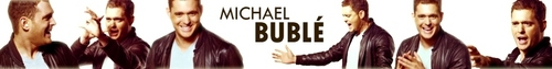 Michael Bublé photo entitled Michael Banner