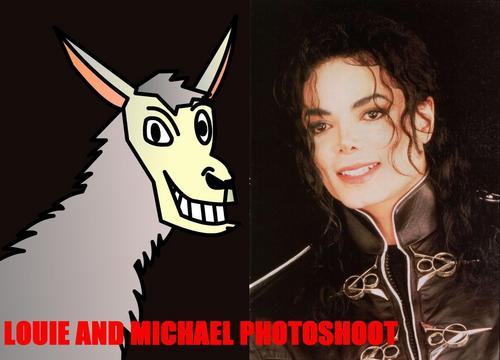 Michael and Louie photoshoot
