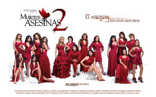 Mujeres Asesinas 2nd Season Cast